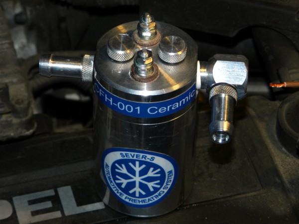 Установка CFH-001 на Opel-Astra G, 2000г., 1.7dti (Isuzu) - 25 Января.2019 - Электроподогреватели топливной системы дизеля